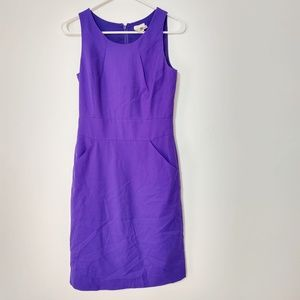 J Crew Purple Dress